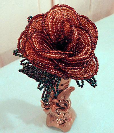 Роза из бисера - Педагогический портал ...