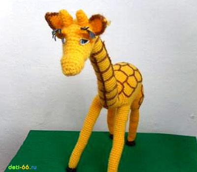 Жираф (крючком).