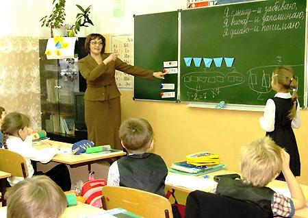 Урок математики и технологии в