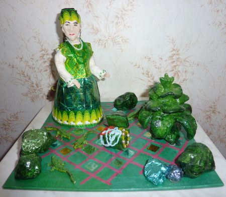 Поделки из пластилина на сказки бажова
