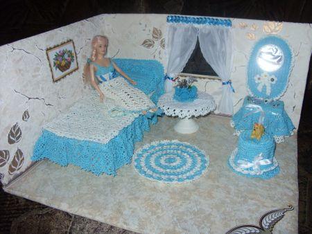 мебели для куклы маленькая