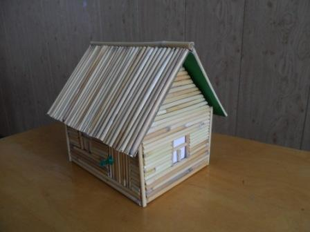 Поделки домик из природного материала своими руками