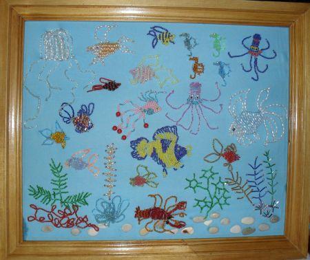 Подводный мир (изделие из