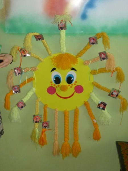 Оформление детского сада своими руками солнышко