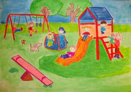 Детство рисунок